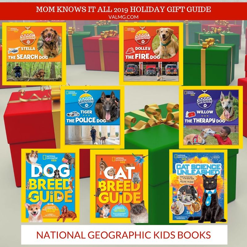 MOM KNOWS IT ALL 2019 HOLIDAY GIFT GUIDE - National Geographic Kids Books