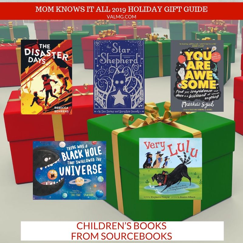 MOM KNOWS IT ALL 2019 HOLIDAY GIFT GUIDE - Children's Books From Sourcebooks