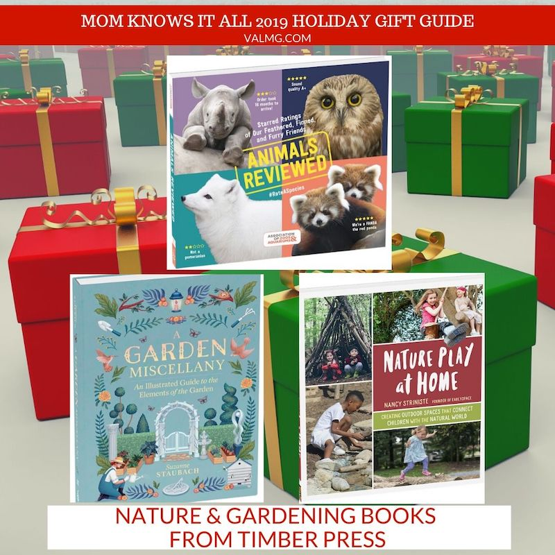 MOM KNOWS IT ALL 2019 HOLIDAY GIFT GUIDE - Nature & Gardening Books From Timber Press