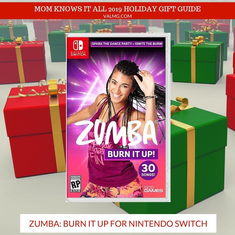MOM KNOWS IT ALL 2019 HOLIDAY GIFT GUIDE - Zumba: Burn It Up