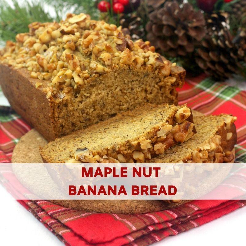Maple Nut Banana Bread Recipe