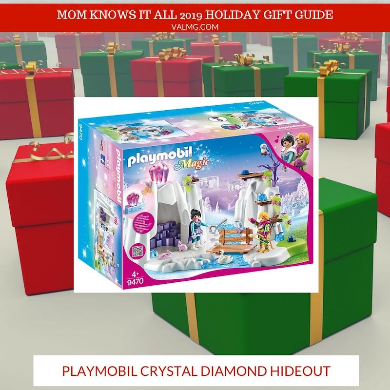 MOM KNOWS IT ALL 2019 HOLIDAY GIFT GUIDE - PLAYMOBIL Crystal Diamond Hideout