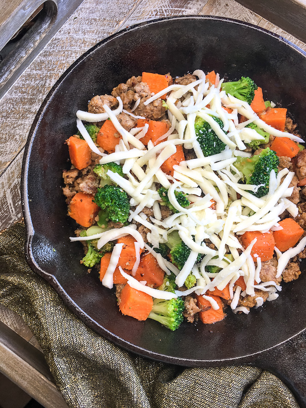 Sweet Potato And Turkey Sausage Skillet Recipe