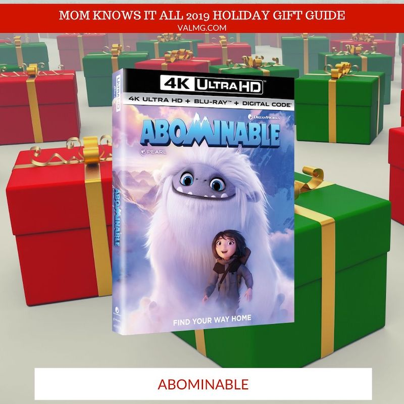 MOM KNOWS IT ALL 2019 HOLIDAY GIFT GUIDE - Abominable