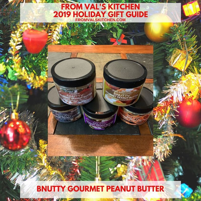 2019 HOLIDAY GIFT GUIDE - bNutty Gourmet Peanut Butter With Peanut Butter S'Mores Banana Bites Recipe