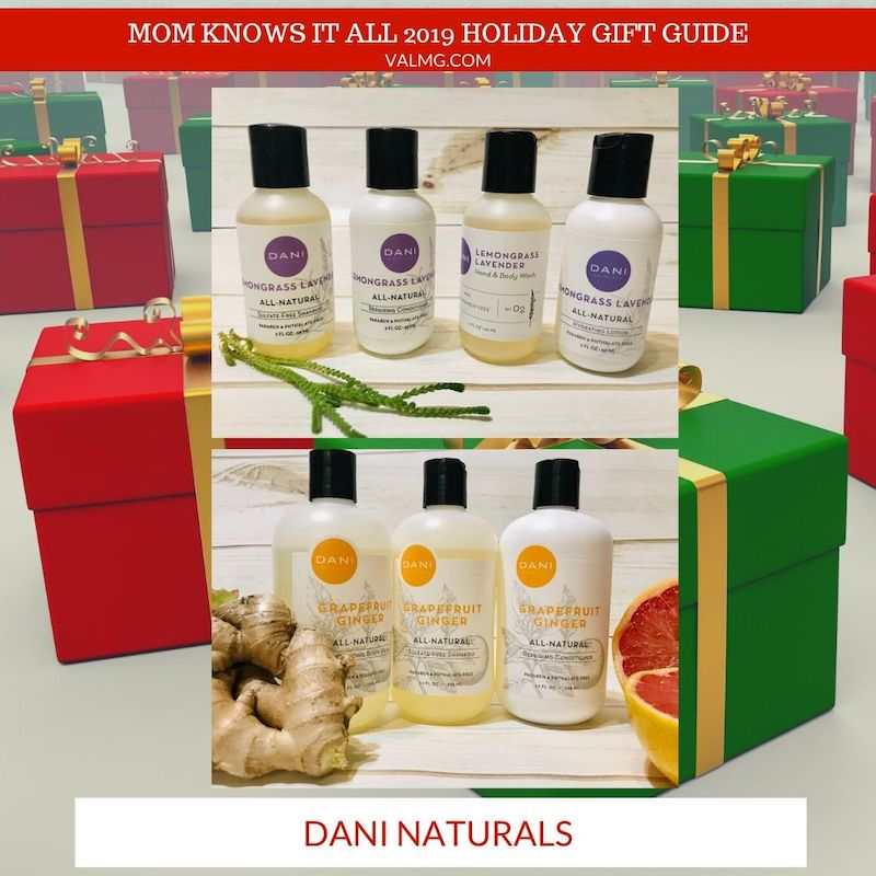 MOM KNOWS IT ALL 2019 HOLIDAY GIFT GUIDE - Dani Naturals