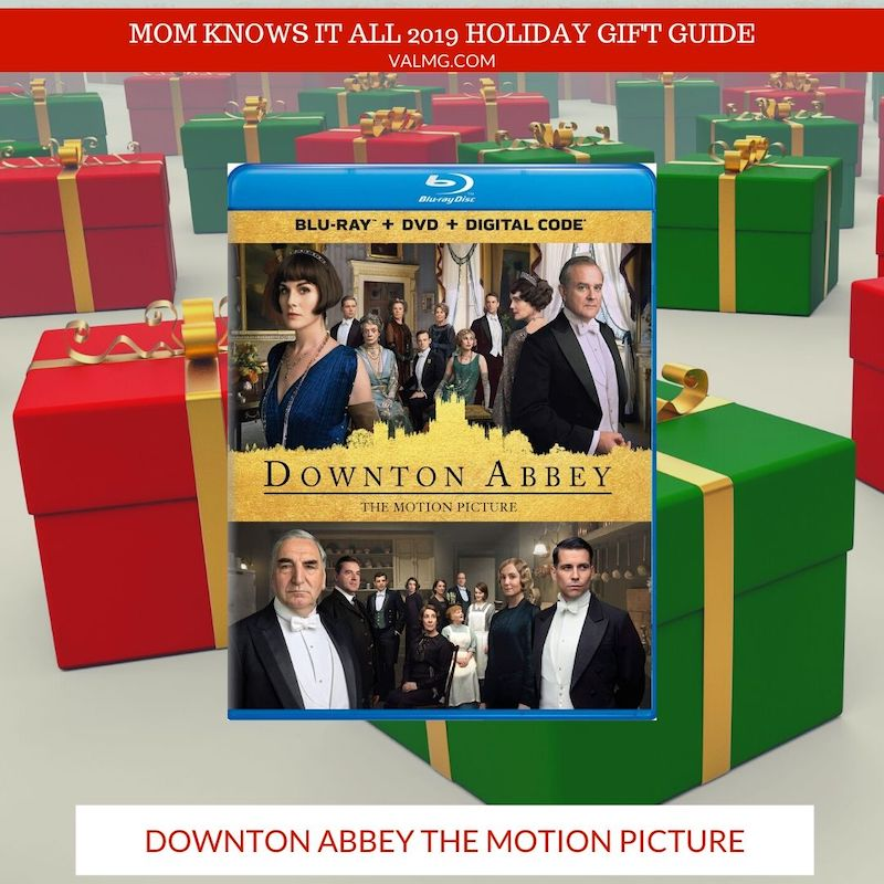 MOM KNOWS IT ALL 2019 HOLIDAY GIFT GUIDE - Downton Abbey The Motion Picture
