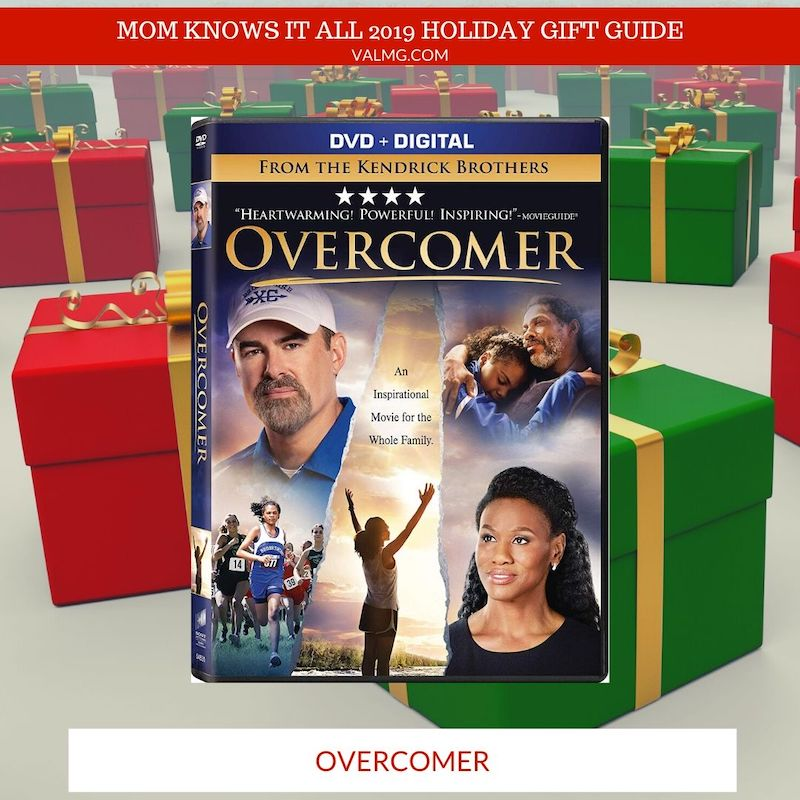 MOM KNOWS IT ALL 2019 HOLIDAY GIFT GUIDE - Overcomer