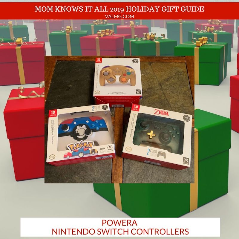 MOM KNOWS IT ALL 2019 HOLIDAY GIFT GUIDE - PowerA Nintendo Switch Controllers