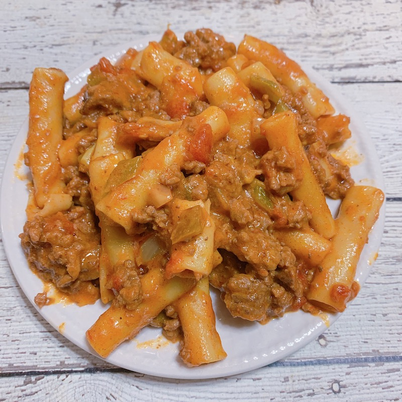 Pressure Cooker Taco Ziti Recipe From Val's Kitchen