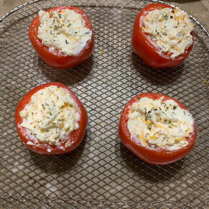 FROM VAL'S KITCHEN 2019 HOLIDAY GIFT GUIDE - The Spice Lab Gift Sets With Air Fryer Ricotta Stuffed Tomatoes Recipe
