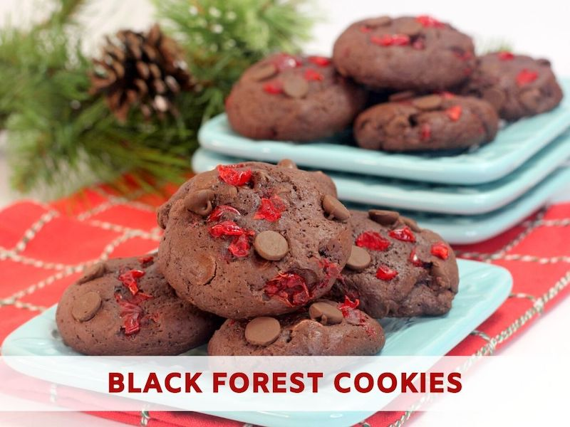 Black Forest Cookies Recipe