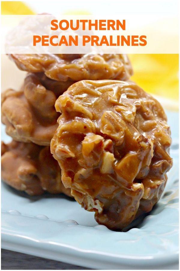 Southern Pecan Pralines Recipe