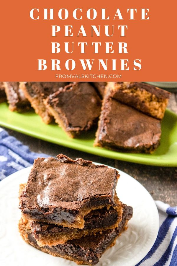 Chocolate Peanut Butter Brownies Recipe