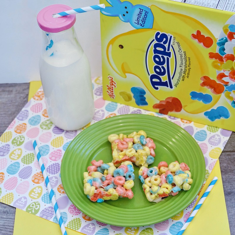 Easter Peeps Cereal Treats Recipe