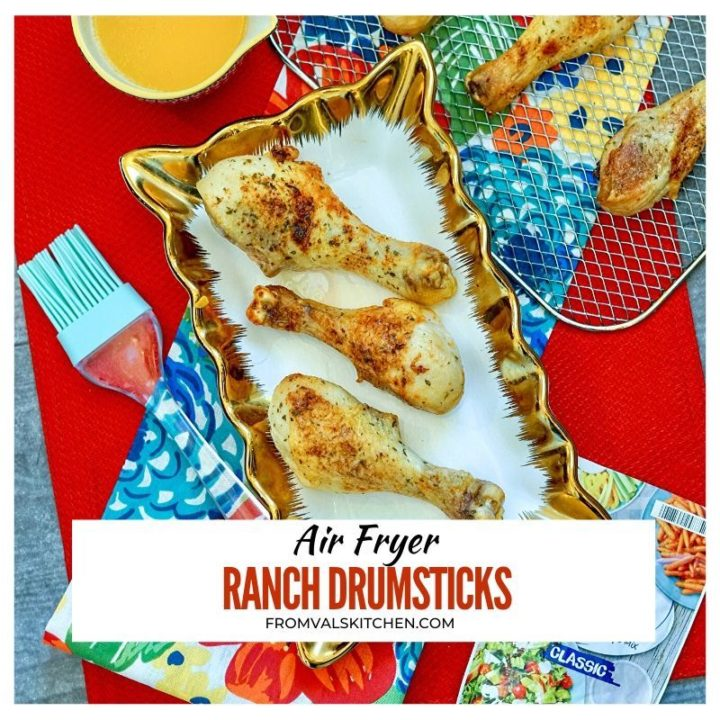 Air Fryer Ranch Drumsticks Recipe