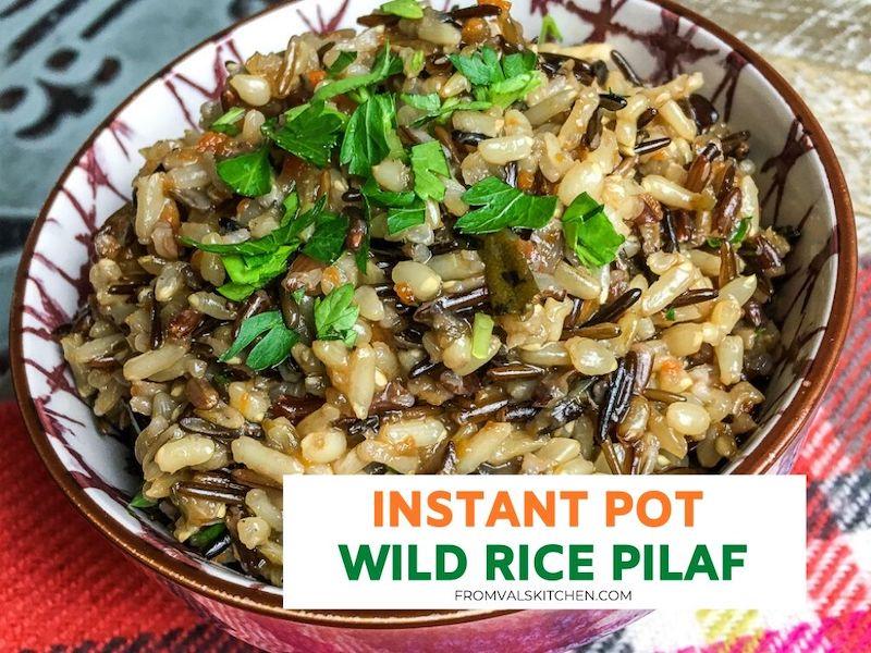 Instant Pot Wild Rice Pilaf Recipe
