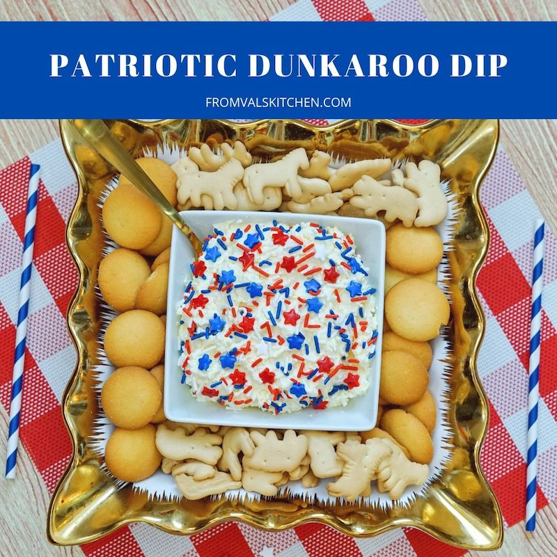 Patriotic Dunkaroo Dip Recipe From Val's Kitchen