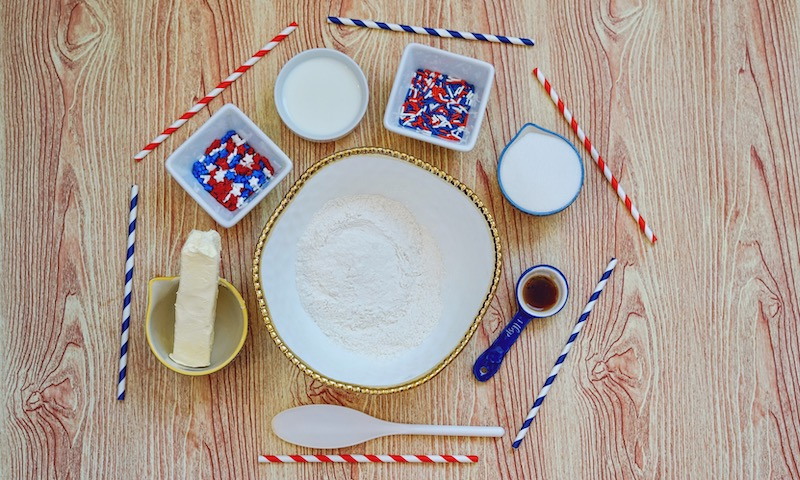 Patriotic Edible Sugar Cookie Dough Recipe
