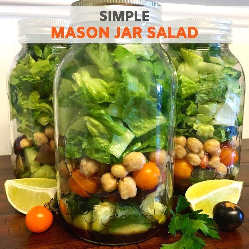 Simple Mason Jar Salad Recipe