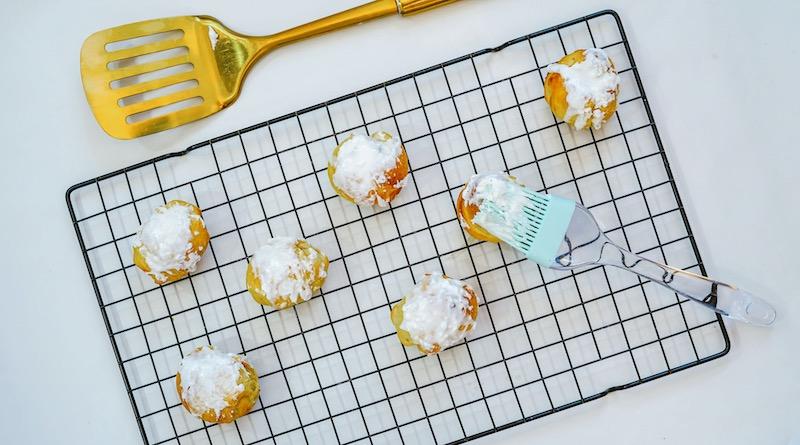 Air Fryer Pumpkin Bites Recipe From Val's Kitchen