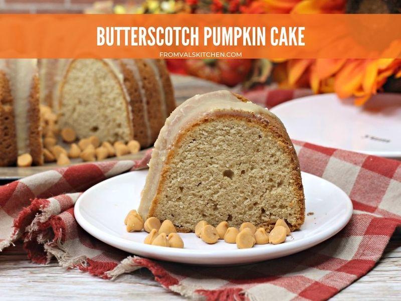Butterscotch Pumpkin Cake Recipe From Val's Kitchen