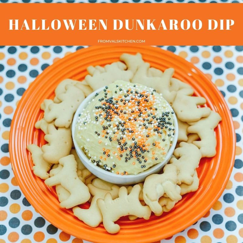 Halloween Dunkaroo Dip Recipe From Val's Kitchen