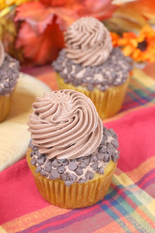 Pumpkin Chocolate Chip Cupcakes Recipe From Val's Kitchen