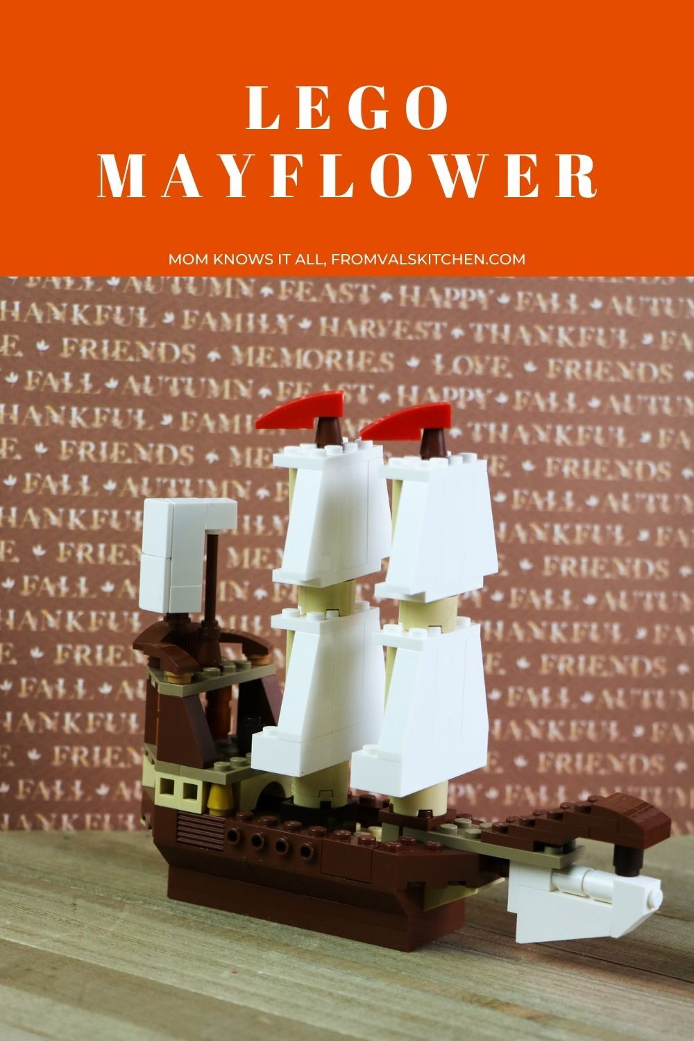 How To Make A LEGO Mayflower - Mom Knows It All