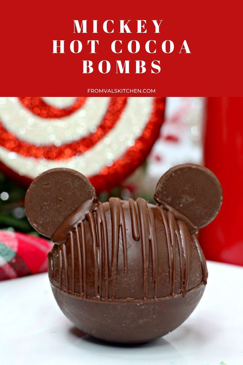 How To Make Mickey Hot Cocoa Bombs - From Val's Kitchen
