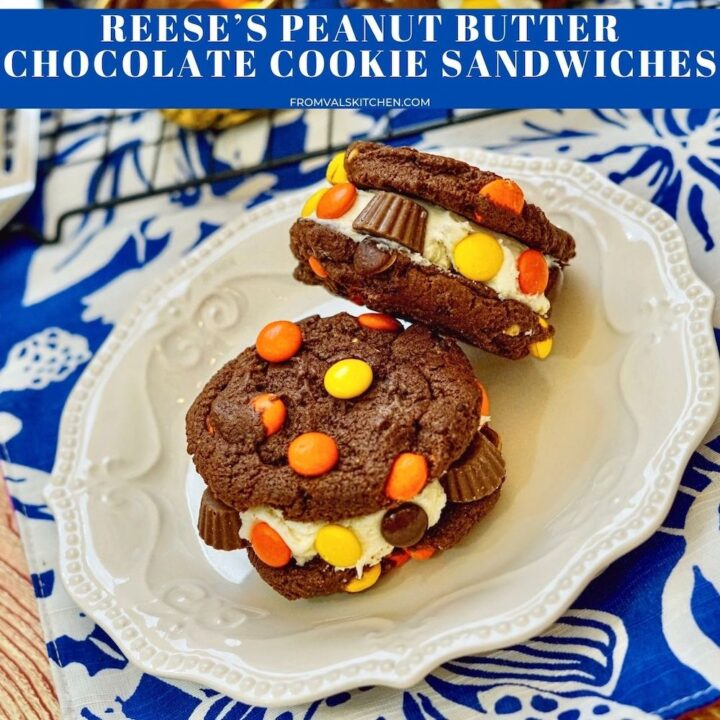 Reese's Peanut Butter Chocolate Cookie Sandwiches