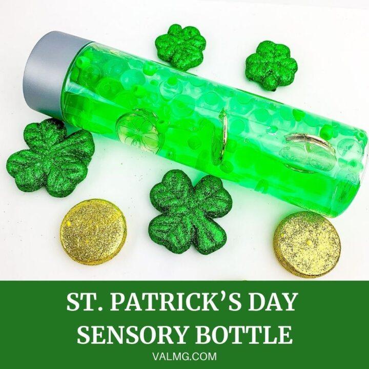 How to Make a St. Patrick's Day Sensory Bottle