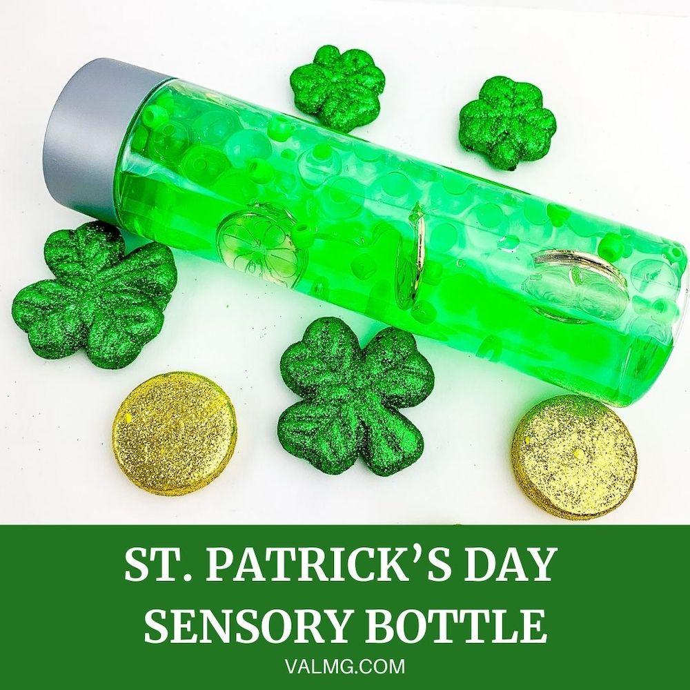 St. Patrick's Day Sensory Bottle