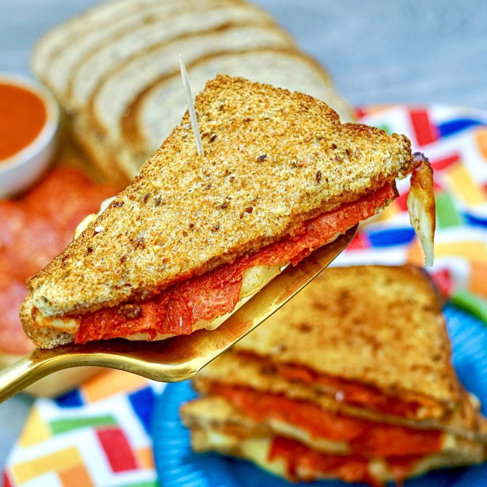 Air Fryer Pizza Sandwiches Recipe From Val's Kitchen