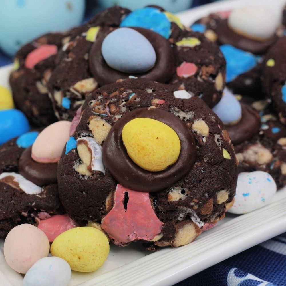 Cadbury Egg Cookies Recipe From Val's Kitchen