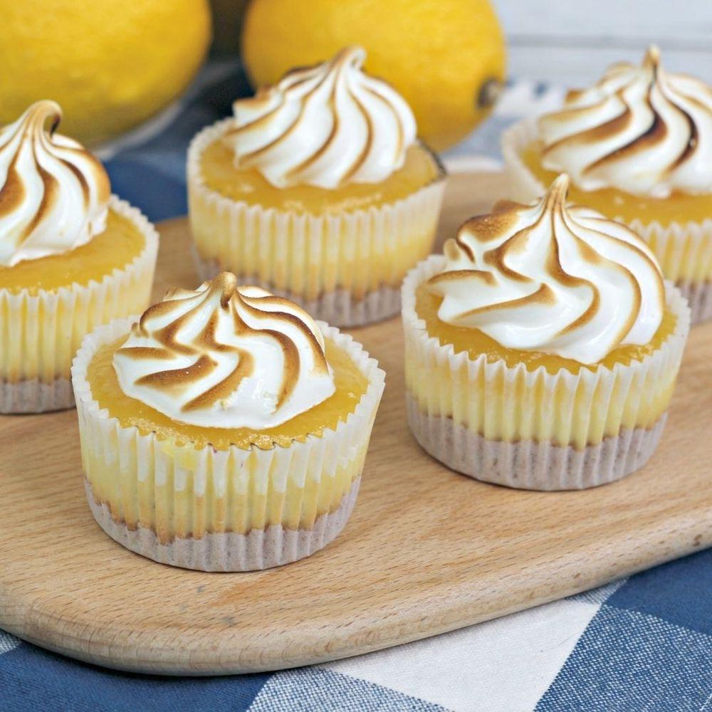 Lemon Meringue Cheesecake Bites Recipe From Val's Kitchen