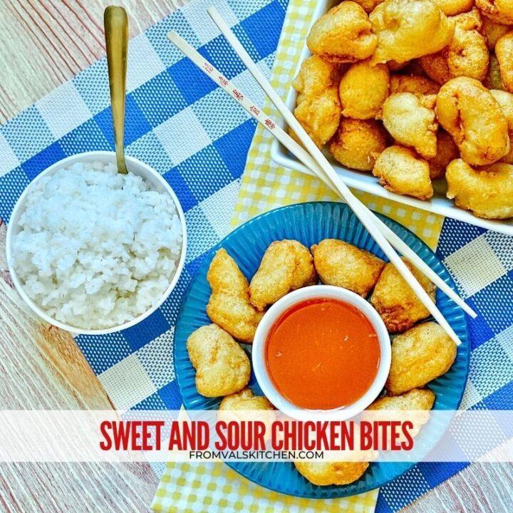 Sweet & Sour Chicken Bites