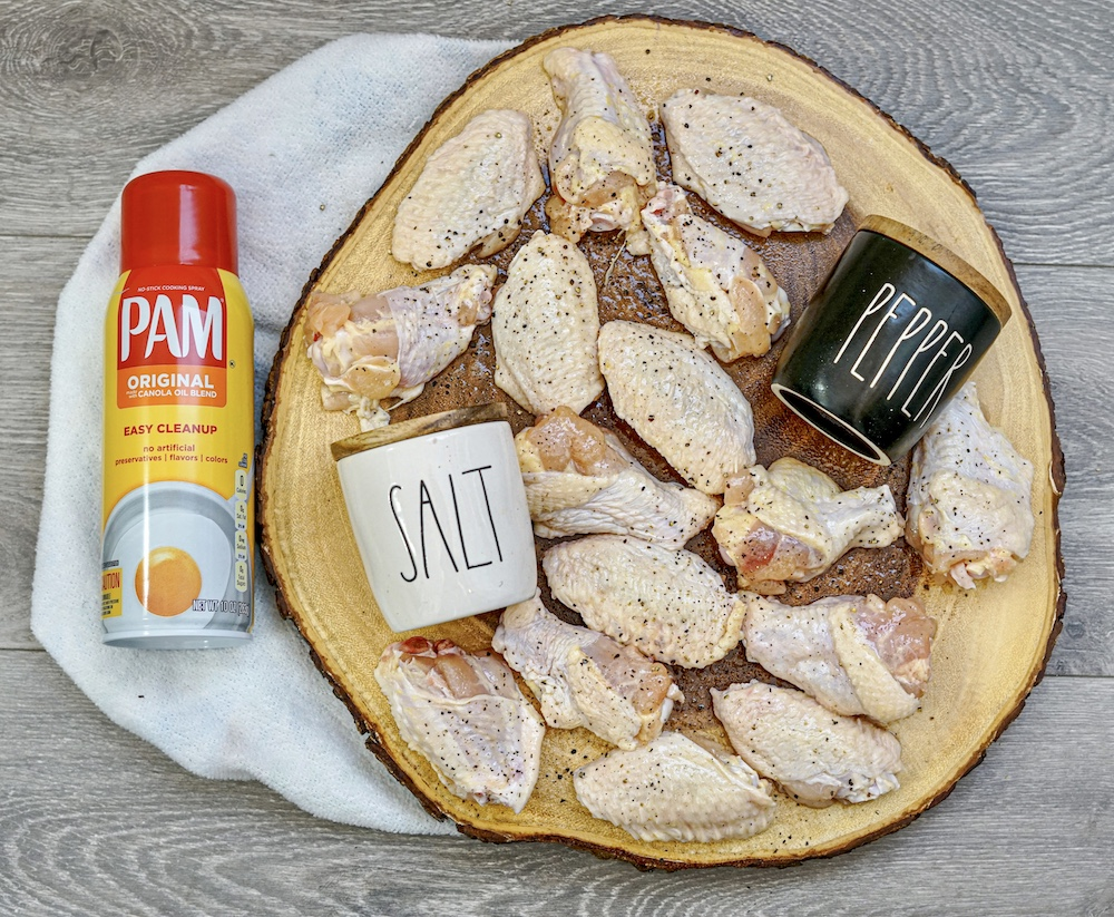 Air Fryer Dry Rub Chicken Wings Recipe From Val's Kitchen
