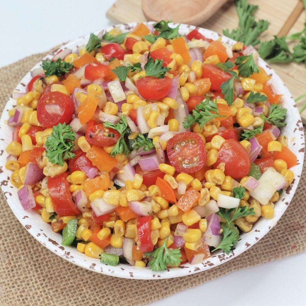 Cajun Corn Salad Recipe From Val's Kitchen