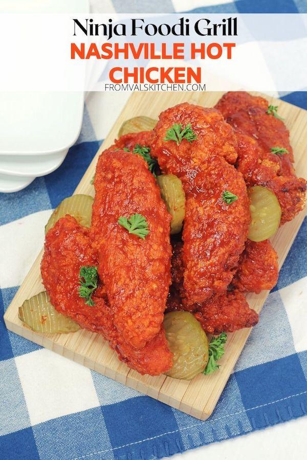 Ninja Foodi Grill Nashville Hot Chicken Recipe