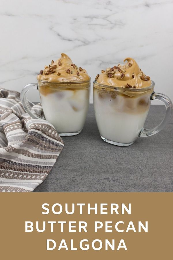 Southern Butter Pecan Dalgona Recipe From Val's Kitchen