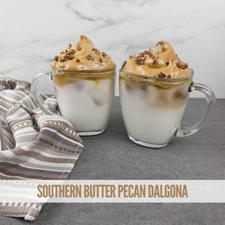 Southern Butter Pecan Dalgona