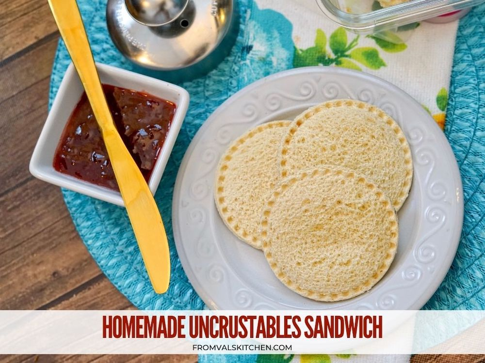 How To Make A Homemade Uncrustables Sandwich From Val's Kitchen