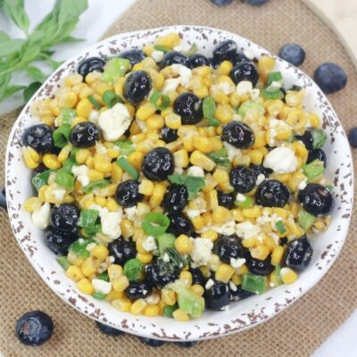 Blueberry Corn Feta Salad Recipe
