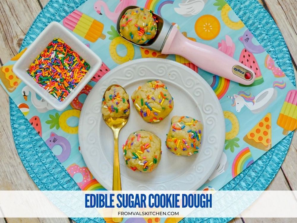 Edible Sugar Cookie Dough Recipe From Val's Kitchen