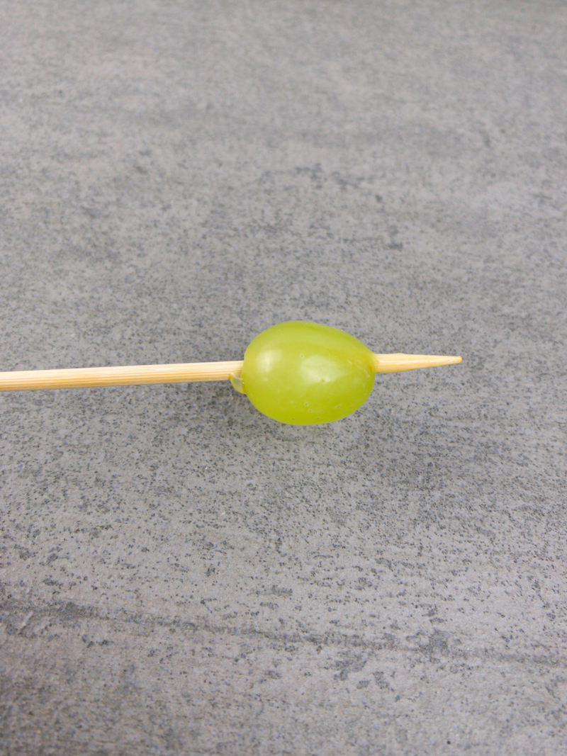 How To Make Grape Caterpillar Skewers From Val's Kitchen